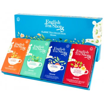 English Tea Shop Organic Classic Tea Collection - 60 Bags - Sachets
