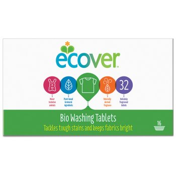 Ecover Ecological Bio Washing Tablets - Pack of 32