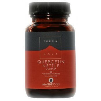 Terranova Vegan Quercetin Nettle Complex Supplement - 50 Capsules