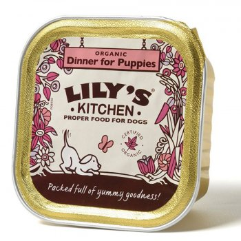 Lilys Kitchen Organic Dinner For Puppies - 150g