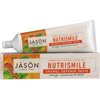 Jason Nutrismile Antiplaque & Enamel Defense Toothpaste - 122g