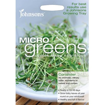 Johnsons Microgreens Seeds - Coriander