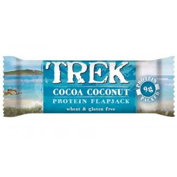 Trek Protein Flapjack Bar - Cocoa & Coconut - 50g