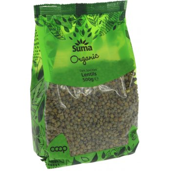 Suma Prepacks Organic Dark Speckled Lentils 500g