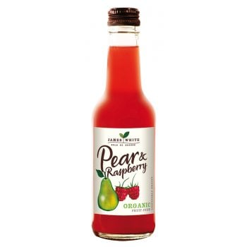 James White Organic Pear & Raspberry Juice - 250ml