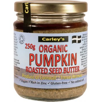 Carleys Organic Roasted Pumpkin Seed Butter - 250g