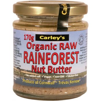 Carleys Organic Raw Rainforest Nut Butter - 170g