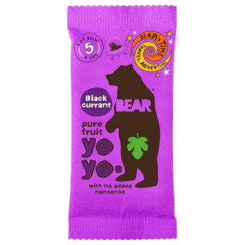 Yoyo Pure Fruit Rolls - Blackcurrant - 20g