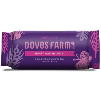 Doves Farm Organic Fruity Oat Biscuits - 200g