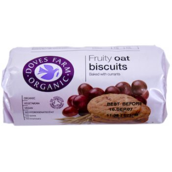 Doves Farm Fruity Oat Digestives 200g
