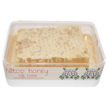 Hilltop Honey Cut Comb Acacia Raw 200g