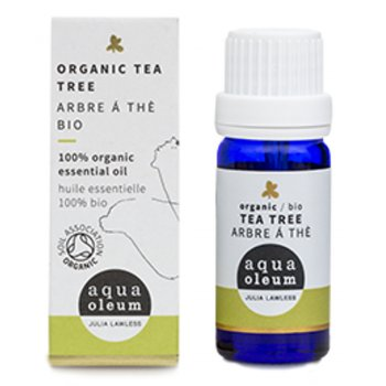 Aqua Oleum Organic Tea Tree Essential Oil 10 ml