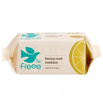 Doves Farm Organic Lemon Zest Cookies - 150g