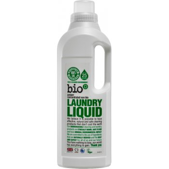 Bio D Concentrated Non-Bio Laundry Liquid - Fresh Juniper - 1L - 25 Washes