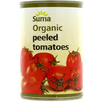 Suma Peeled Whole Organic Tomatoes 400g