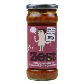 Zest Free From Tomato Mushroom & Smoked Garlic Pasta Sauce - 350g