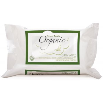 Simply Gentle Organic Baby Wipes - Pack of 52