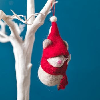 Hanging Christmas Tree Decoration - Mouse