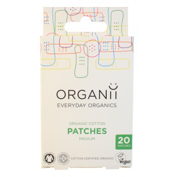 Organii Organic Cotton Patches - 20s 7x2cm