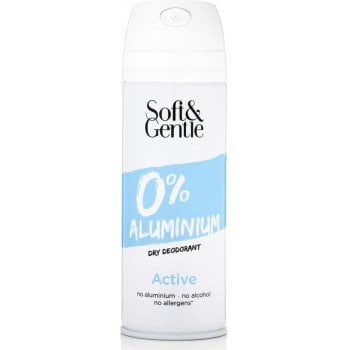 Soft & Gentle Aluminium-Free Deodorant - Active - 150ml