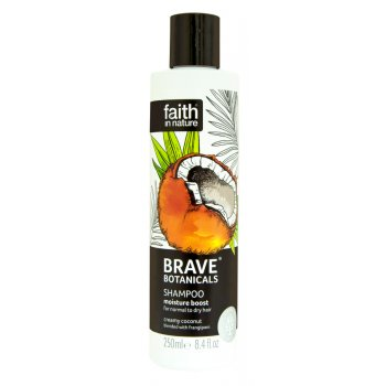 Faith In Nature Brave Botanicals Moisture Boost Shampoo - 250ml