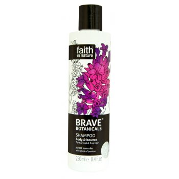 Faith In Nature Brave Botanicals Body & Bounce Shampoo - 250ml