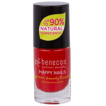 Benecos Nail Polish - Vintage Red - 5ml
