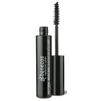 Benecos Natural Mascara - Maximum Volume - Deep Black - 8ml