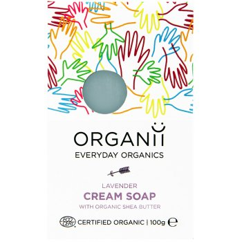 Organii Organic Cream Soap Bar - Lavender - 100g