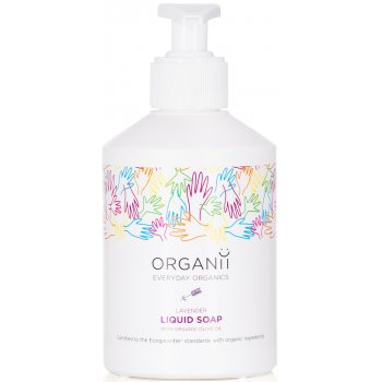Organii Organic Liquid Soap - Lavender - 300ml