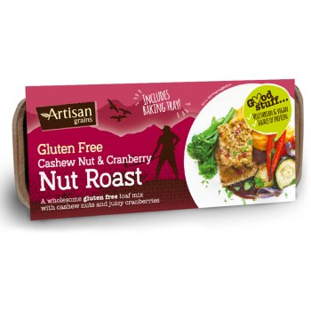 Artisan Grains Nut Roast - Cashew & Cranberry - 200g