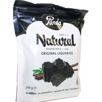 Panda Original Liquorice Cuts Bag - 240g