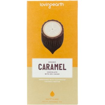 Loving Earth Caramel Raw Chocolate - 80g
