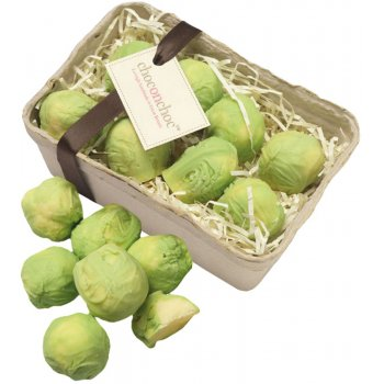 Handmade White Chocolate Sprouts x 8