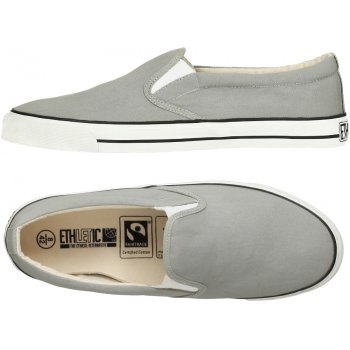 Ethletic Fairtrade Deck Shoes - Urban Grey