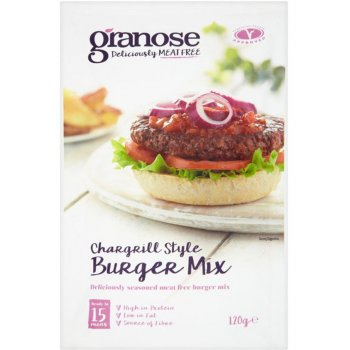 Granose Chargrilled Style Meat Free Burger Mix - 120g