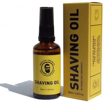 Good Day Organics Mens Pre Shave Oil - 50ml