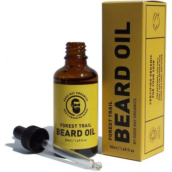Good Day Organics Mens Forest Trail Beard Oil - 50ml