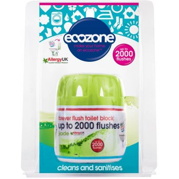 Ecozone Forever Flush Toilet Block - Jade - 2000 Flushes