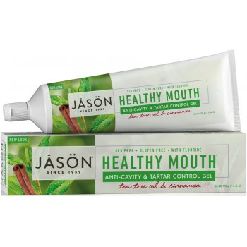 Jason Healthy Mouth Tartar Control Toothgel - Tea Tree & Cinnamon - 170g
