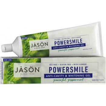 Jason Powersmile Whitening Anti-Cavity Toothgel - Peppermint - 170g