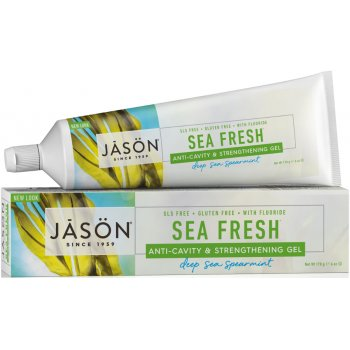 Jason Sea Fresh Strengthening Anti-Cavity Toothgel - Spearmint - 170g