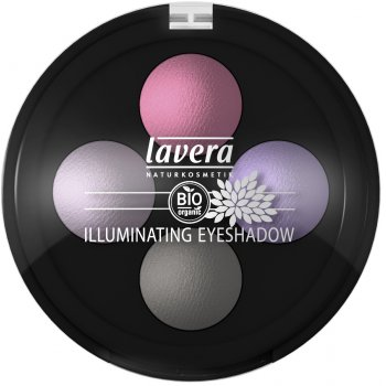 Lavera Illuminating Eyeshadow Quattro - 4 x 0.8g