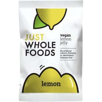 Just Wholefoods Jelly Crystals - Lemon - 85g