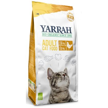 Yarrah Organic Dry Adult Cat Food With Chicken - 2.4kg