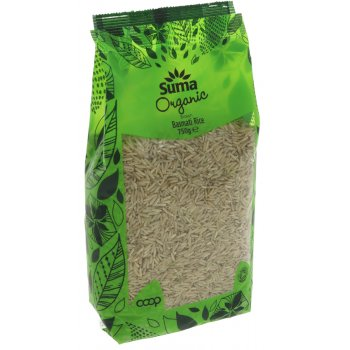 Suma Prepacks Organic Brown Basmati Rice 750g