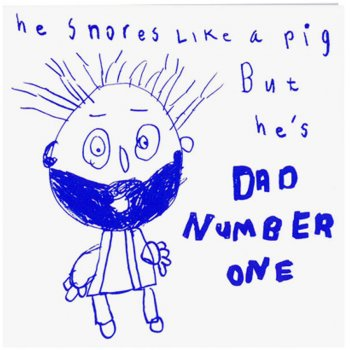 Arthouse Meath Charity Dad Number One Card