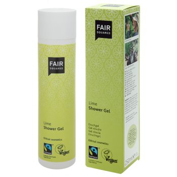 Fair Squared Shower Gel - Lime - 250ml