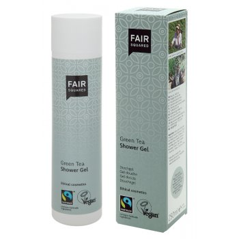 Fair Squared Shower Gel - Green Tea - 250ml