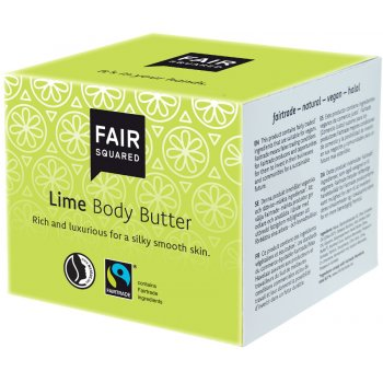 Fair Squared Body Butter - Lime - 150ml